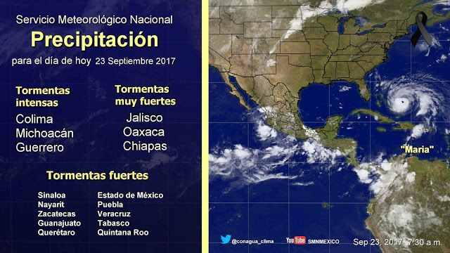 Periodismo sin Censura: Pronóstico Meteorológico General 23 de Septiembre ...
