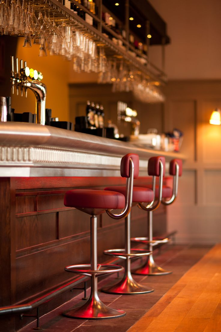 Bar at The Blue Boar, Witney