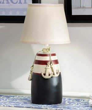 Nauticaul Bouoy  Anchors Lamp by Giftcraft #zulily #zulilyfinds