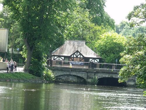 Swan Road Public Toilets, Bird Street, Lichfield - Minster Pool - Causeway Bridge