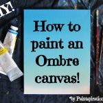 In this DIY tutorial, I will show you how to paint an Ombre Canvas Painting in 5 minutes! You can use your Ombre Canvas Painting as a background for a quote painting, or you can create your painting to match your decor and hang it directly on the wall. The...