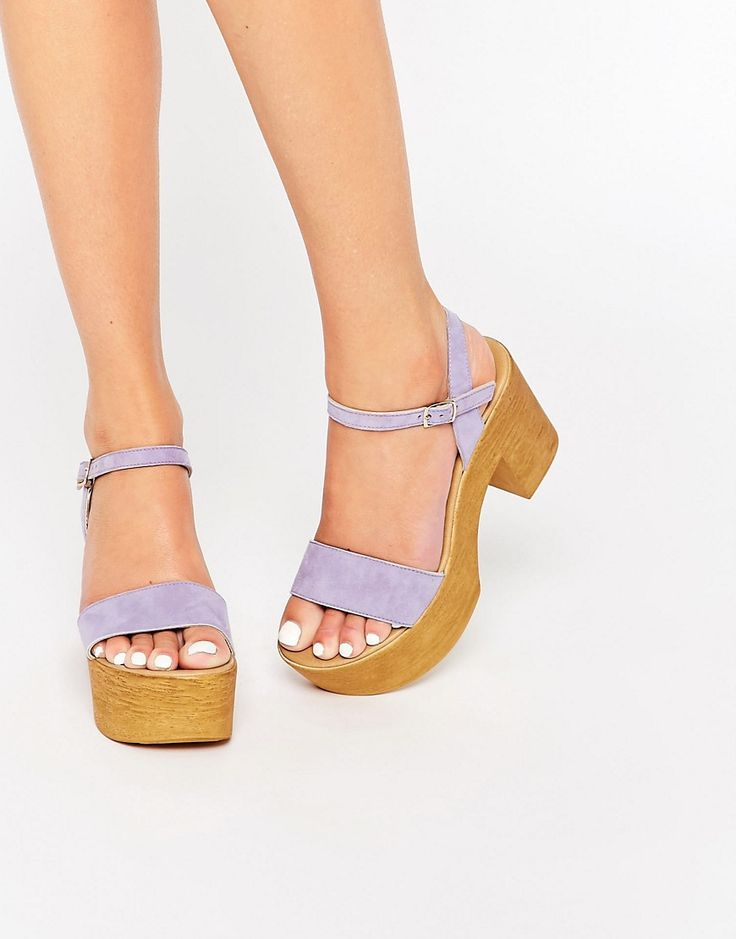 Image 1 of ASOS TIGHT ROPE Chunky Sandals
