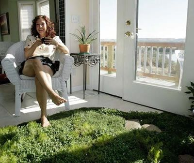 Living Floor Like Heinlein's Grass Carpet: Science Fiction in the News