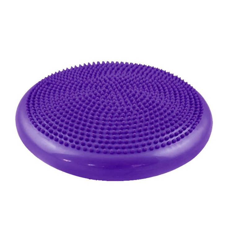 Trendy Balancing Ball Yoga Core Training Cushion Stability Soft Classic Balance Disc Balancing cushion Purple * Click on the image for additional details.