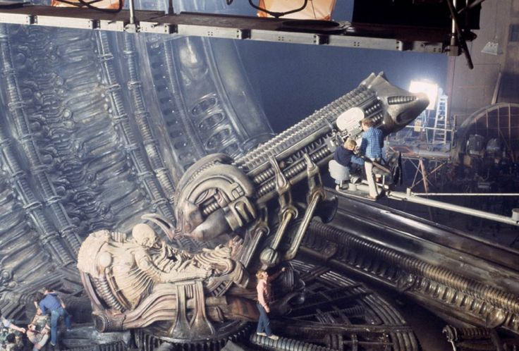 Alien (1979)  :: This was not a simple CG job, people actually built the sets back then.  ( BTW, 'Prometheus' is coming this year )
