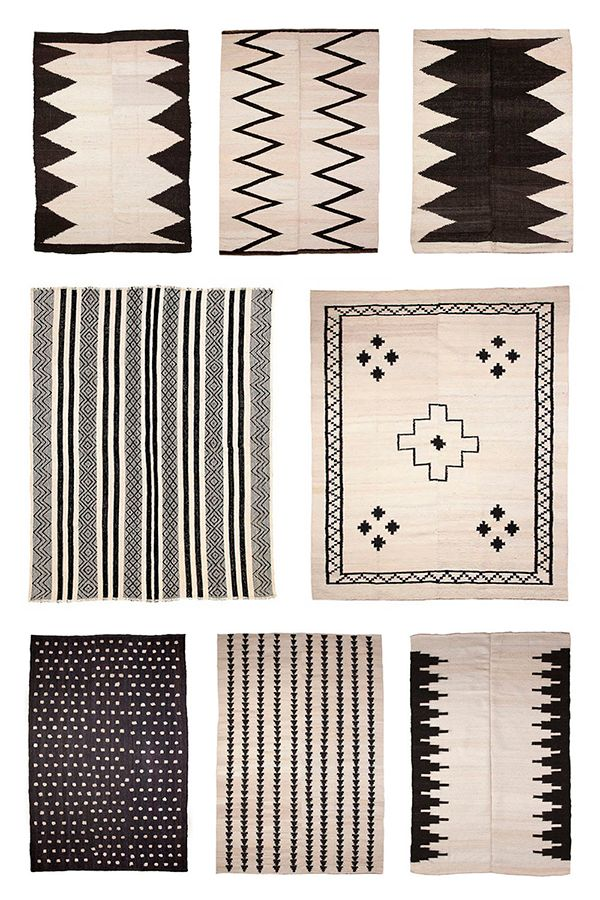 Pampa rugs.- graphics carpet when the carpet shed their classical form  so pretty, natural shades