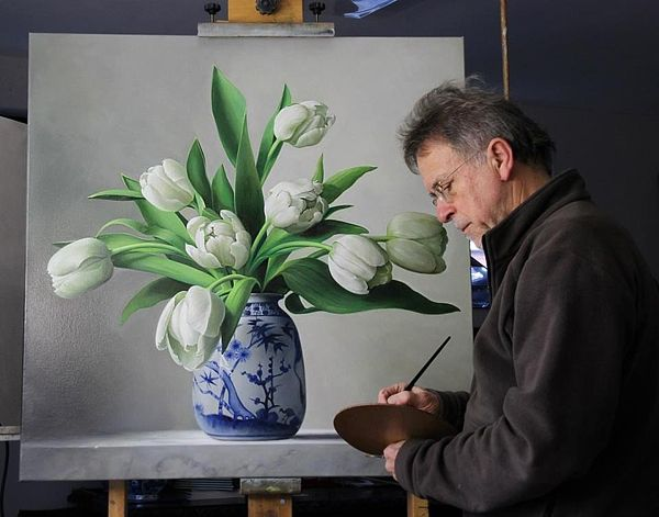 Flower Masterpieces by Pieter Wagemans