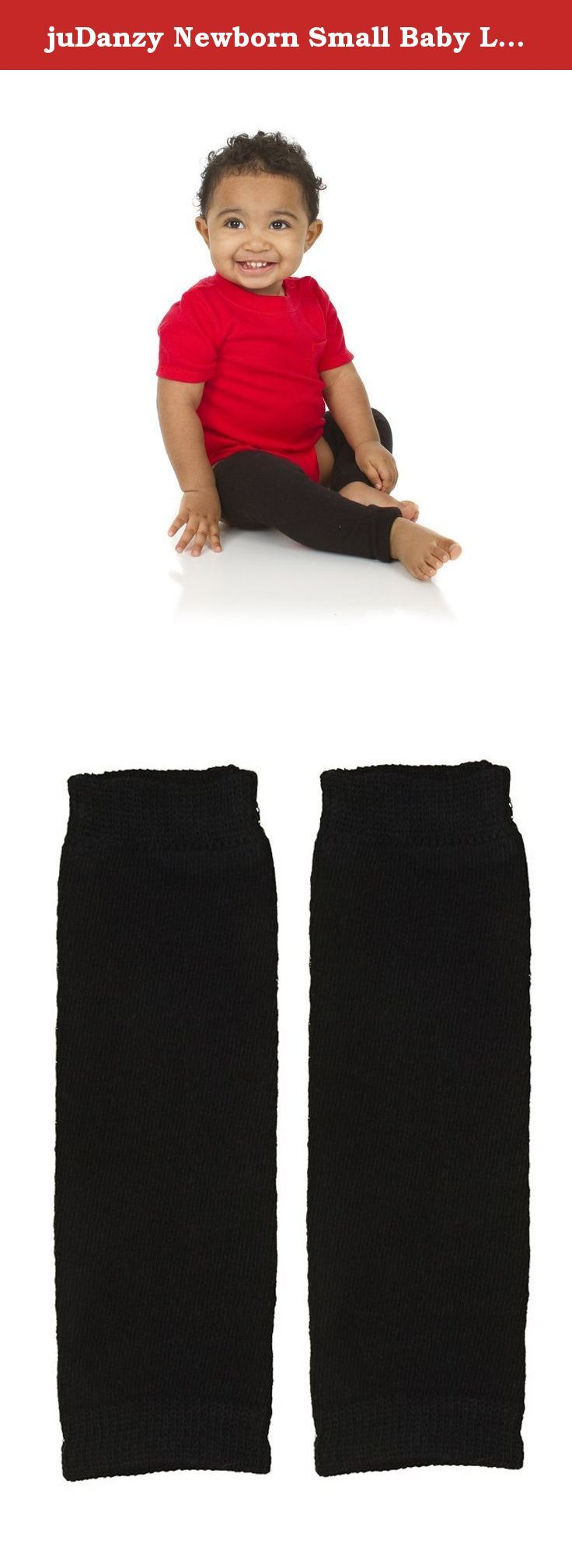 juDanzy Newborn Small Baby Leg Warmers (Newborn-15 Pounds) (Solid Black). These newborn solid black leg warmers are a fashion necessity for every tiny style seeker. Composition: 80% Cotton, 18% Nylon, 2% Spandex Length: 8 inches (21cm) Recommended for babies newborn to 15 pounds.