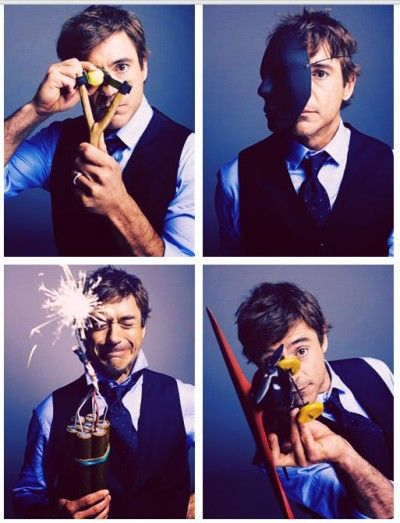 Robert Downey Jr and More! Symbolic Pics of the Month (08/12)