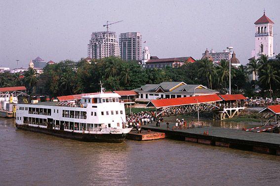 Yangon River Port
