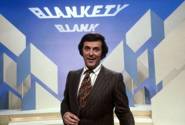 Sir Terry Wogan presents Blankety Blank in 1979