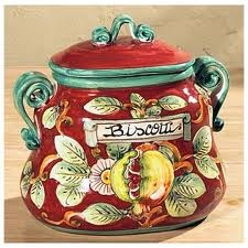 I need to add this one to my collection: Biscuits Jars, Italian Flair, Brain Power, Tuscan Decoration, Decoration Idea, Italian Ceramics, Biscotti Jars, Cookie Jars, Cookies Jars