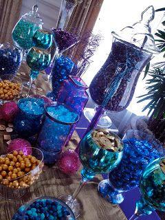 Jackie Sorkin's Fabulously Fun Candy Girls: Alyssa & Ali's Moroccan Inspired Jewel Toned Wedding Favors