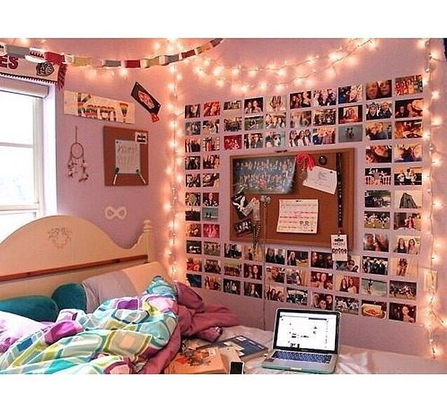 The lights and the picture are a really good idea.