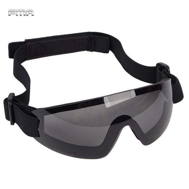 FMA Cycling Glasses Sports Glasses UV400 Sunglasses Windproof Ski Eyewear Military Paintball Shooting Tactical Goggles TB797