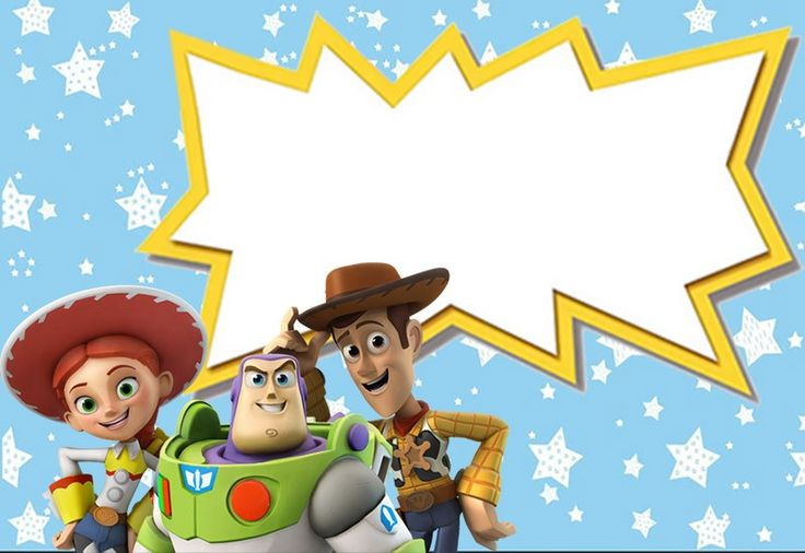 Toy Story Invitations - Free Download (With images) | Toy ...