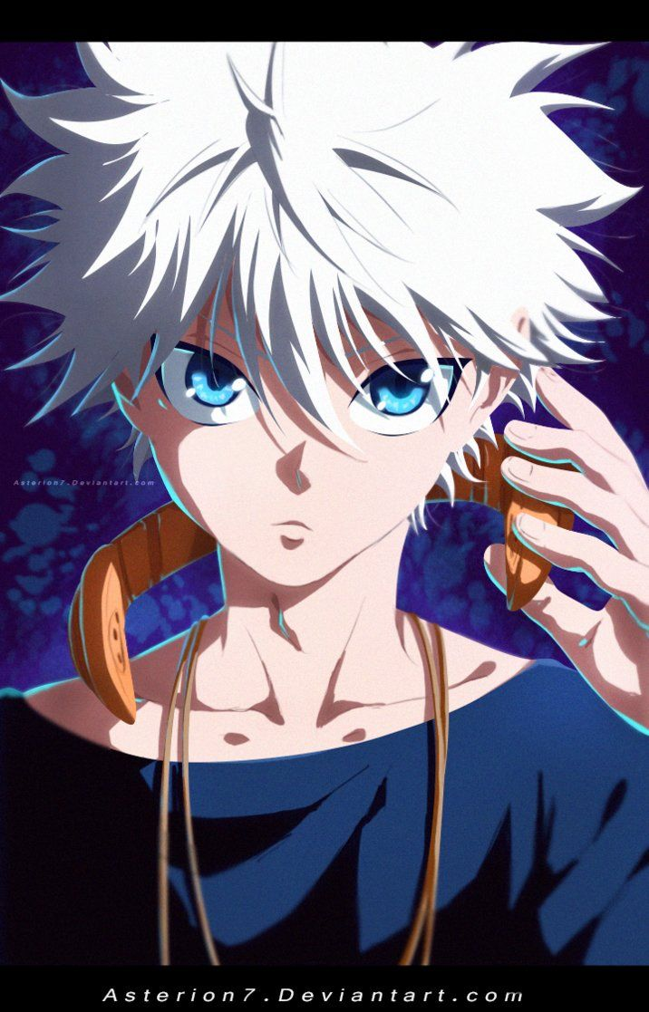 Killua Zaoldyeck by asterion7 by Asterion7 Personagens