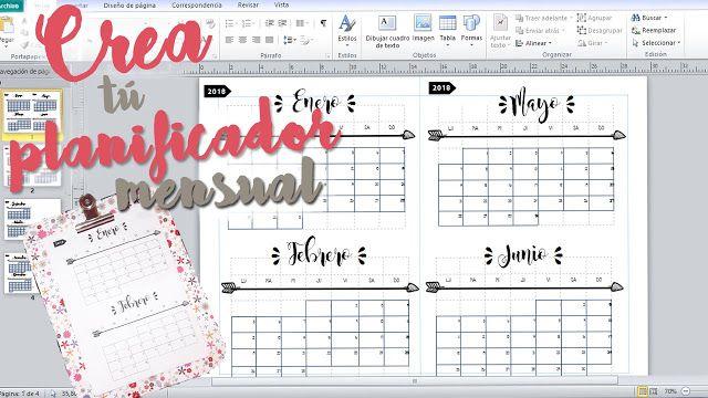 Dreams of Love: Organizador / Planning Mensual - Organízate mes a mes