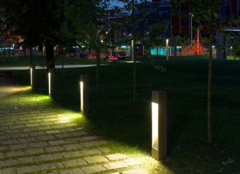 30 Diy Lighting Ideas At Night Yard Landscape With Outdoor Lights Gowritter Modern Landscape Lighting Landscape Lighting Design Bollard Lighting