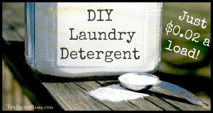 DIY Laundry Detergent - $0.02 a Load!