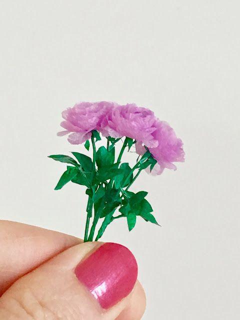 DIY dollhouse: roses, ruusut
