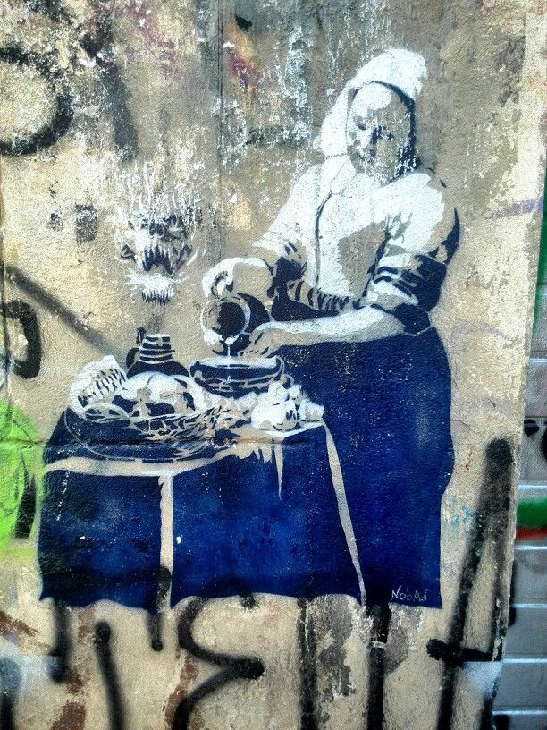 Unknown - street art - Marseille 6 / cours julien, rue crudere (aout 2014)