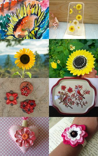 Flower Power 2 by LimSpace on Etsy--Pinned with TreasuryPin.com