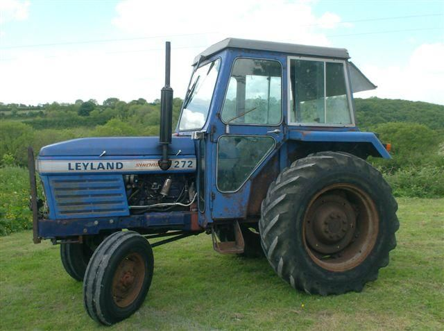 Leyland 272 Tractor at Ella Agri Tractor Sales Mid and West Wales