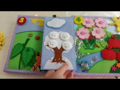 Quiet Book Leonel - YouTube