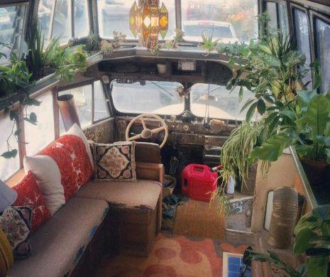 Beautiful bohemian bus