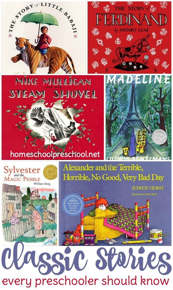 There are many wonderful stories available for preschoolers these days. There's no way we can read each and every one to our kids. Instead focus on these classic stories which have been favorites for generations and every preschooler should know. | http:/