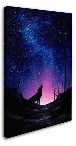"""Chuck Black """"Starry Nights"""" Galerieumschlossene Leinwandbilder (30 """"W x 47"""" H"""