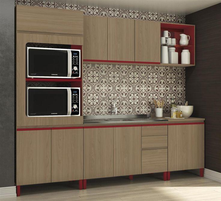 Cozinha Modulada Completa New Urban - Kappesberg                              …