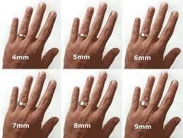 Image result for wedding bands on hand - 5 preferred