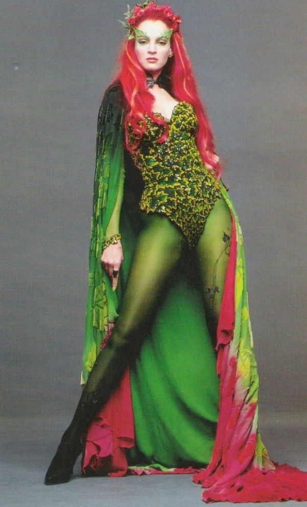 "Uma Thurman as 'Poison Ivy' in ""Batman & Robin""."