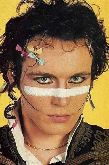 Adam Ant-Dont drink. Dont smoke. What do you do? But I do drink....