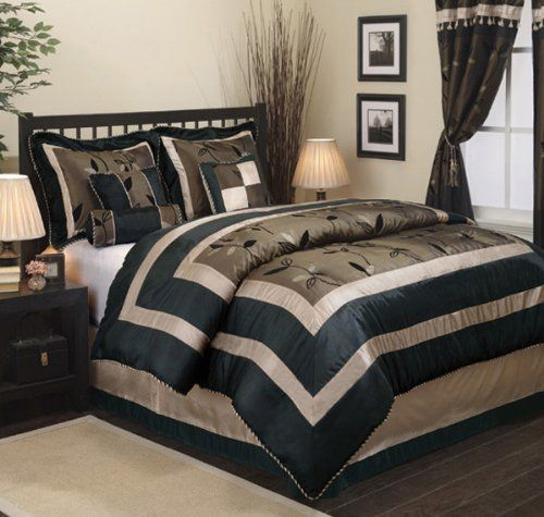 Luxury Textured Pastora 7-Piece Comforter Set - King Size 1 Oversized Comforter 101 x 86 / 1 Bed Skirt 78 x 80 + 14. 2 Pillow Shams 21 x 37. 1 Square Pillow 16 x 16. 1 Oblong Pillow 12 x 16. 1 Neckroll Pillow 6.5 x 16.  #Nanshing #Home