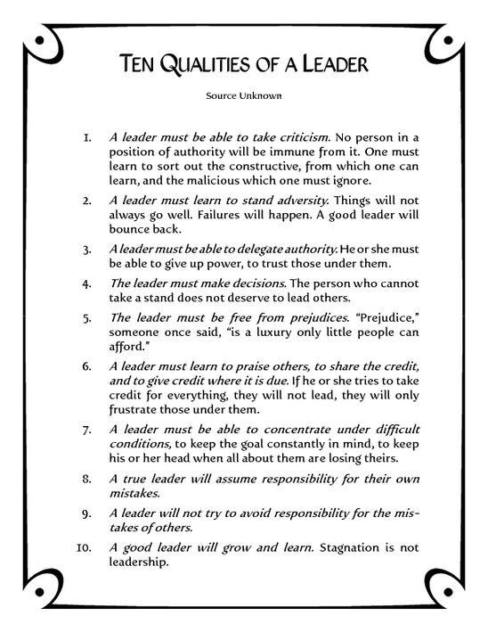 Best  Leadership Qualities Ideas On   Leadership