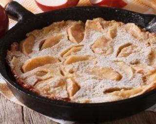 Pancake géant tout léger aux pommes : http://www.fourchette-et-bikini.fr/recettes/recettes-minceur/pancake-geant-tout-leger-aux-pommes.html