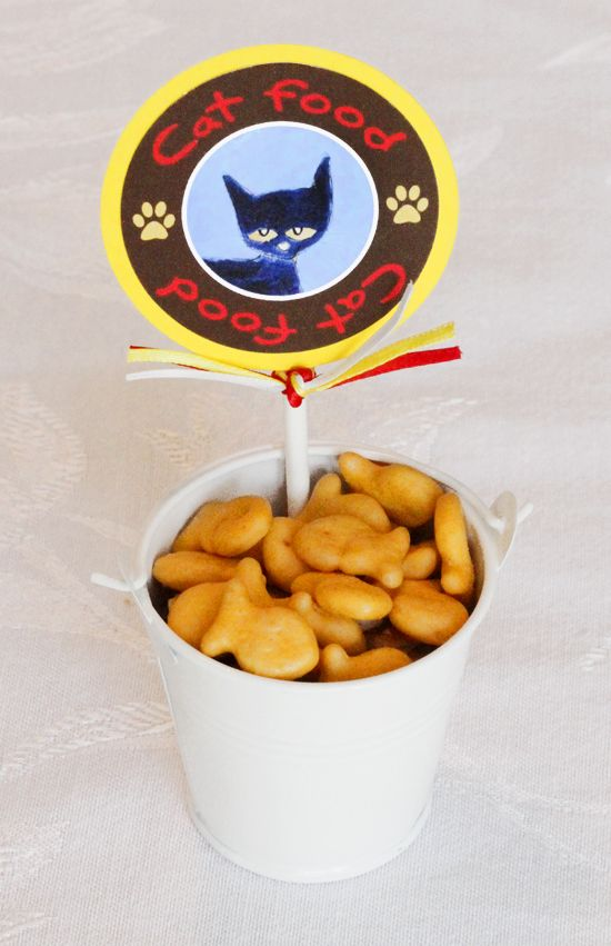 Pete the Cat - cat food