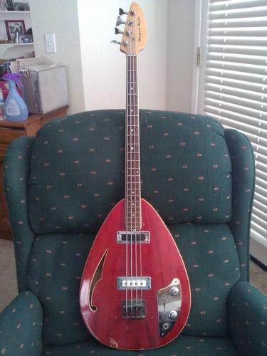 Vintage Vox Bill Wyman Bass Gig Bag and Strings | eBay