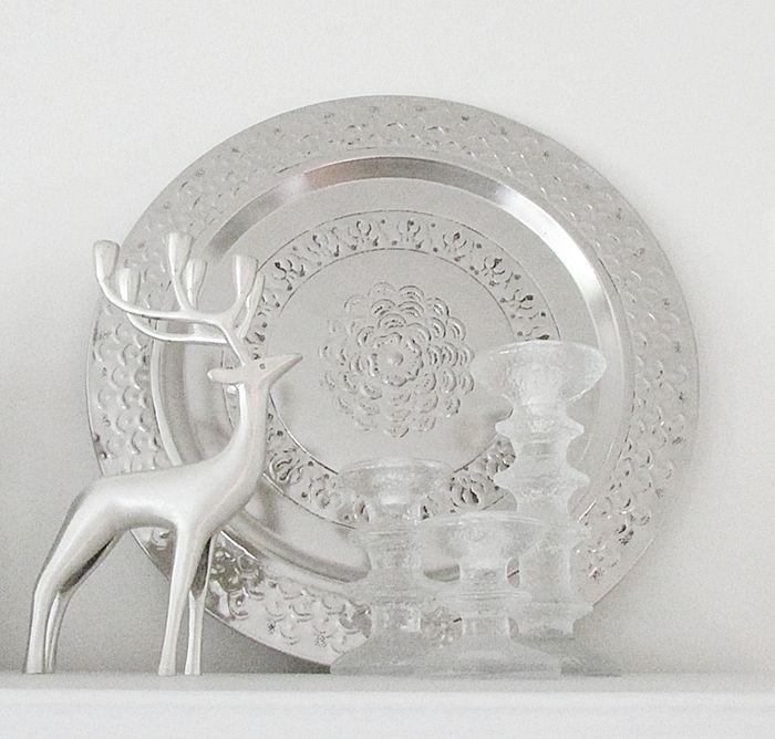 Pentik deer and Sarpaneva candle holders (original)