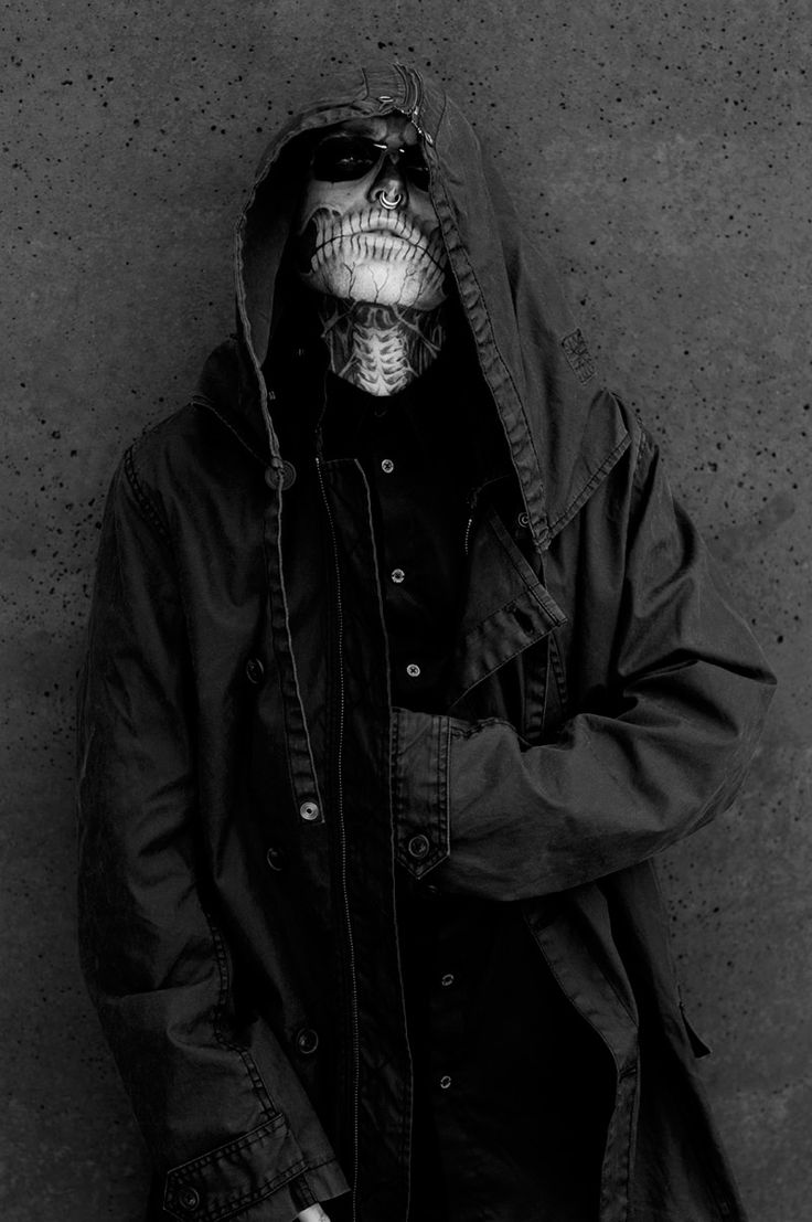 Rick Genest and Shaund Ross photographed by Joachim Baldauf and styled by Dirk Krüger for Traffic magazine.
