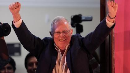 Kuczynski, virtual presidente de Perú