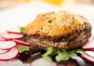 Μανιτάρια πορτομπέλο ψητά με τυριά και βασιλικό - Γρήγορες Συνταγές | γαστρονόμος online