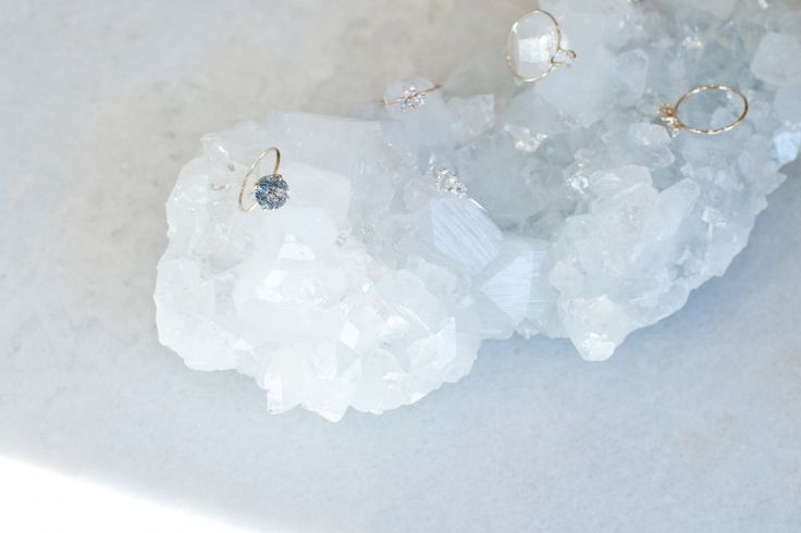 Natalie Marie Jewellery for The Lane Bridal. Smokey Quartz. Available to order via the Natalie Marie Jewellery Website.