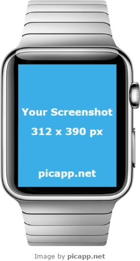 Do not hesitate to showcase your new iOS app with this Picapp Apple Watch template in portrait position, with transparent background. You can put your screenshot in this Apple Watch in few minutes with Picapp.net. All you have to do is to upload your screenshot and Picapp.net makes the magic for you. Try it!  #apple #nobackground #mockup #AppleWatch #smartwatch #picapp #png