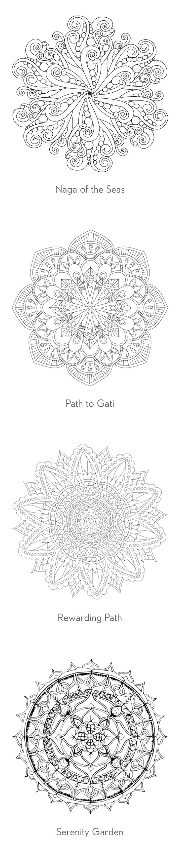 26 best mandala coloring pages images on pinterest coloring