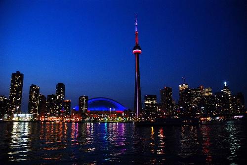 Evening in Toronto