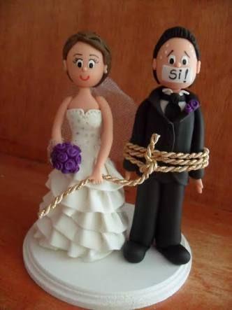 Resultado de imagen para novios para pastel de boda
